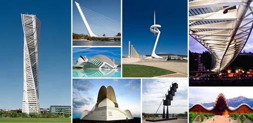 de las obras ms del genio arquitecto ingeniero escultor y dibujante el espaol santiago calatrava obras emblemticas como la ciudad