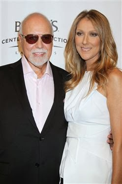 Celine Dion husband throat cancer