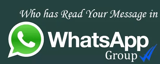 How to check who read your whatsapp message in a group