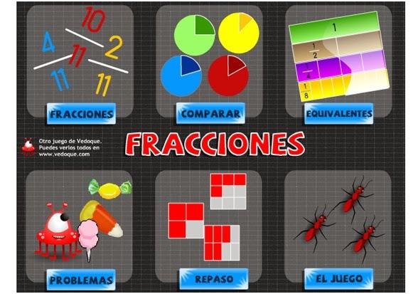 http://www.vedoque.com/juegos/juego.php?j=matematicas-04-fracciones&l=es