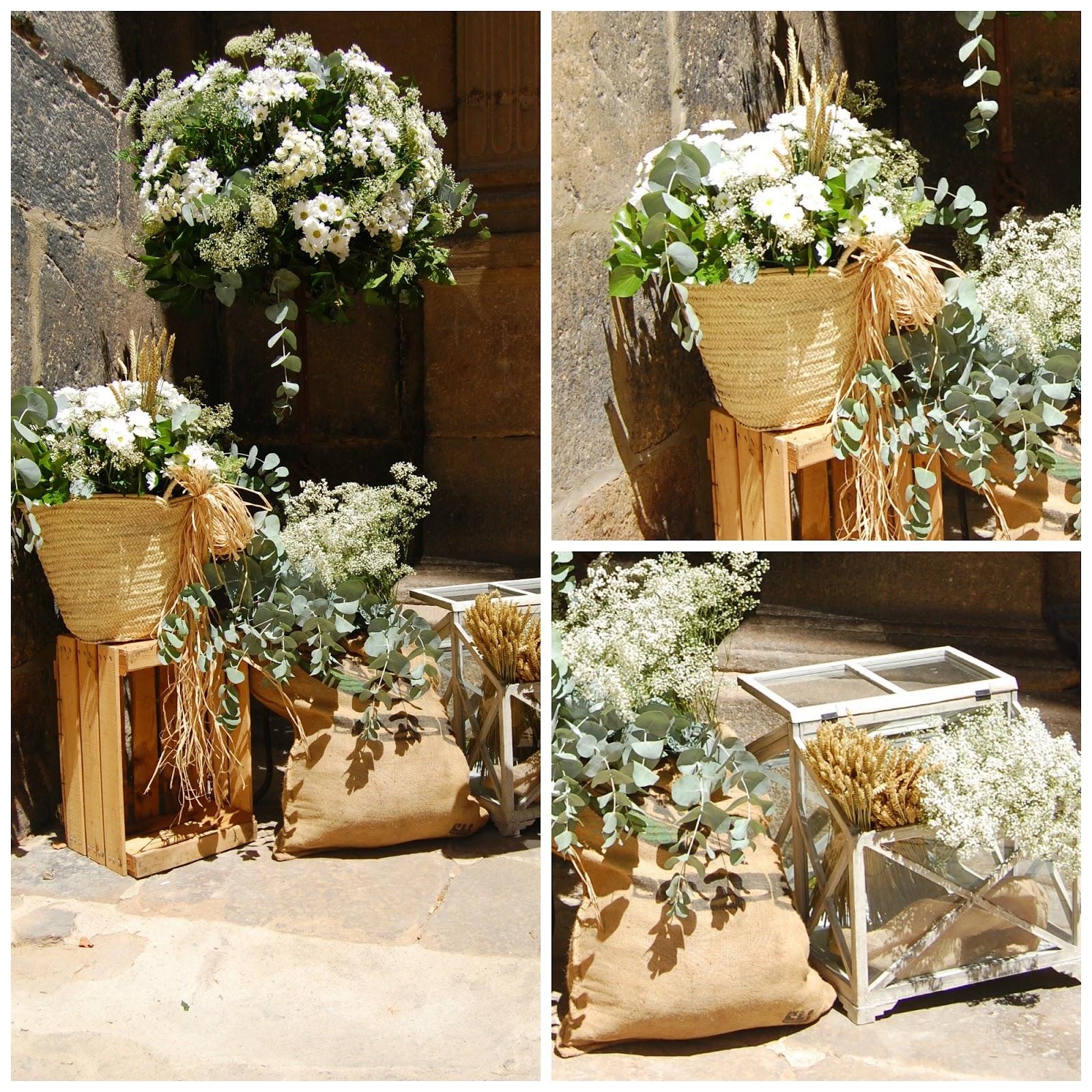 Momentips capazos para tu boda for Decoracion rustica para bodas