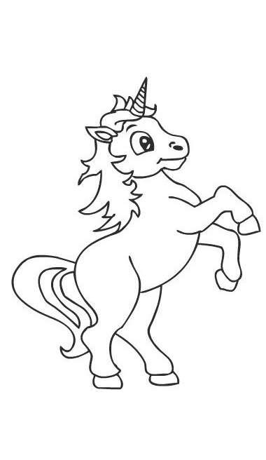 Unicorno disegni da colorare disegni da colorare - Libero unicorno pagine da colorare ...