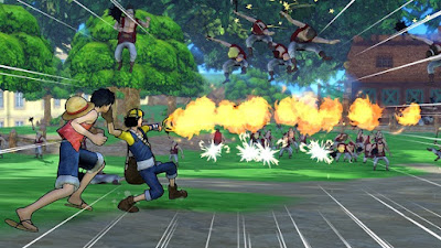 One Piece Pirate Warriors 3 PS3-DUPLEX TERBARU screenshot 2