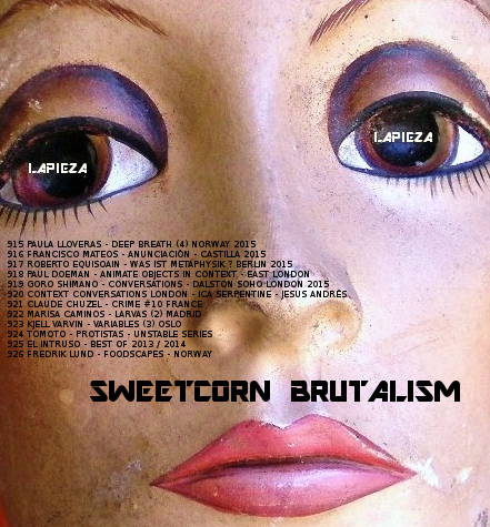 EXPO #71 / SWEETCORN BRUTALISM / 2015 LONDON