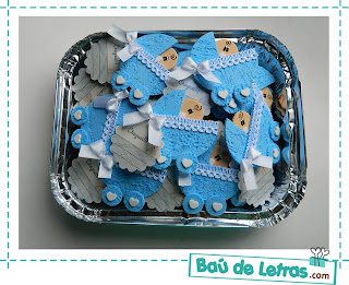 ZAPATITOS DE NIÑO EN FOAMY O GOMA EVA PARA BABY SHOWER