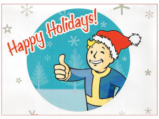 Smiling boy showing thumbs up in Christmas happy holidays background image with different types of snowflakes and X mas trees