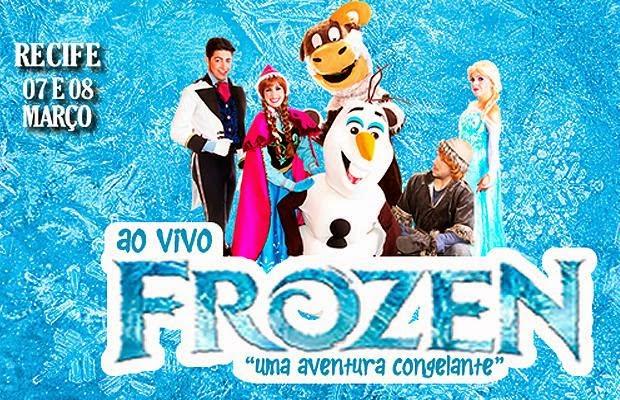Frozen em Recife