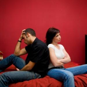 couple-arguing-with-each-other - Got Stuck In A Relationship - sad couple