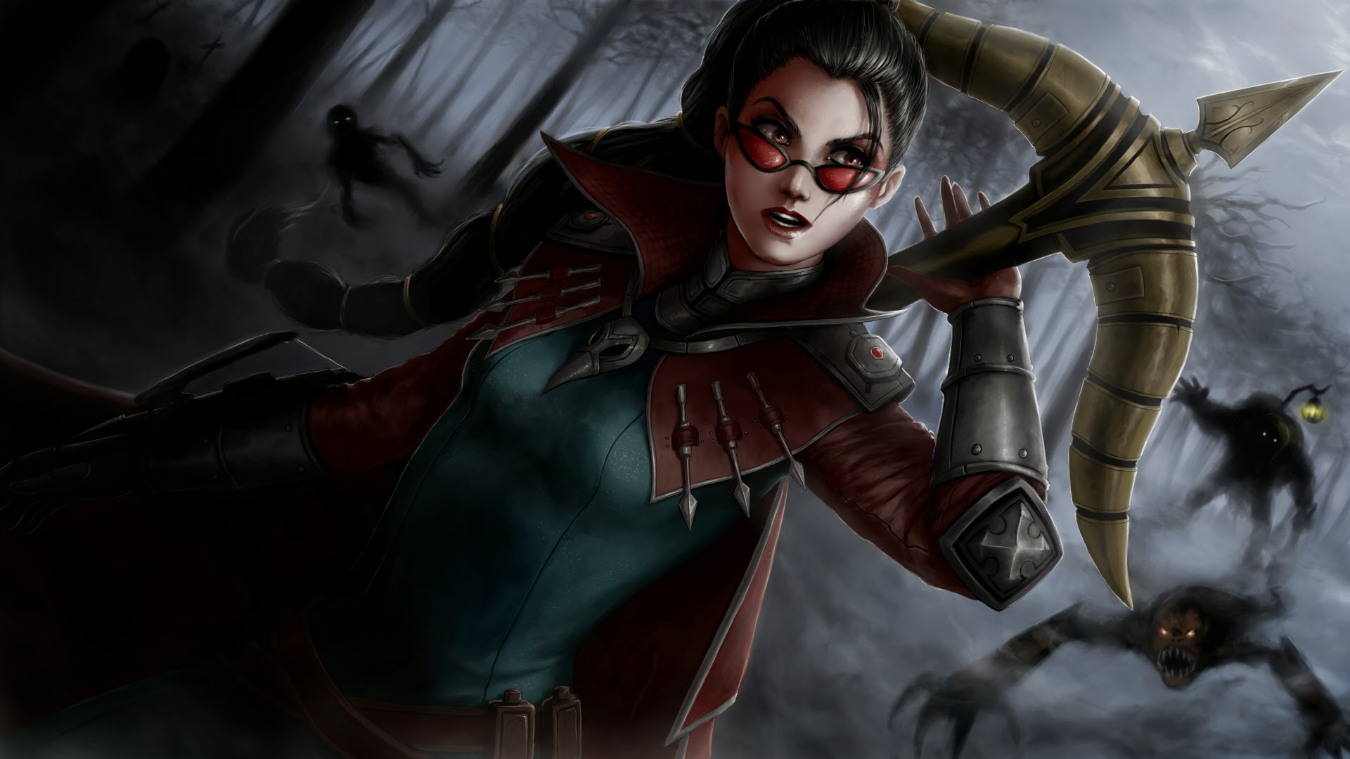 Vayne League of Legends 8x Wallpaper HD