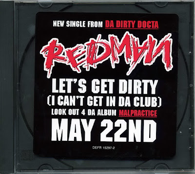 Redman – Let's Get Dirty (I Can't Get In Da Club) (Promo CDS) (2001) (320 kbps)