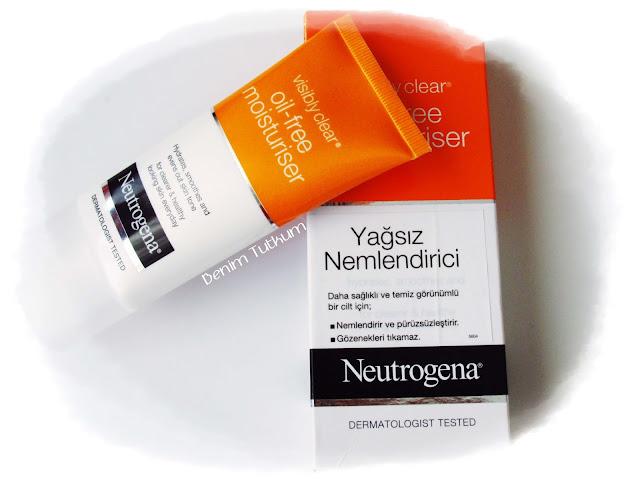 Neutrogena Visibly Clear Yağsız Nemlendirici