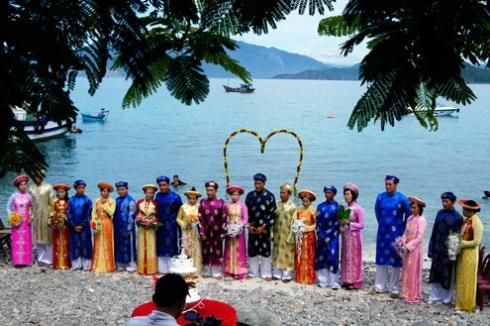 Perkahwinan dalam air laut