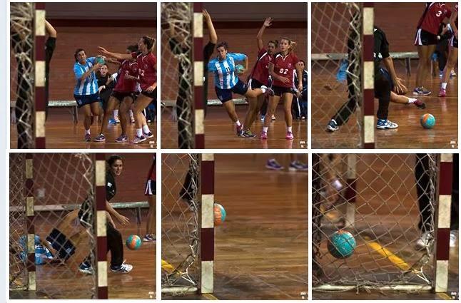 ARG-URU: Secuencia de un gol de rosca (Germán Páez) | Multimedia - Mundo Handball