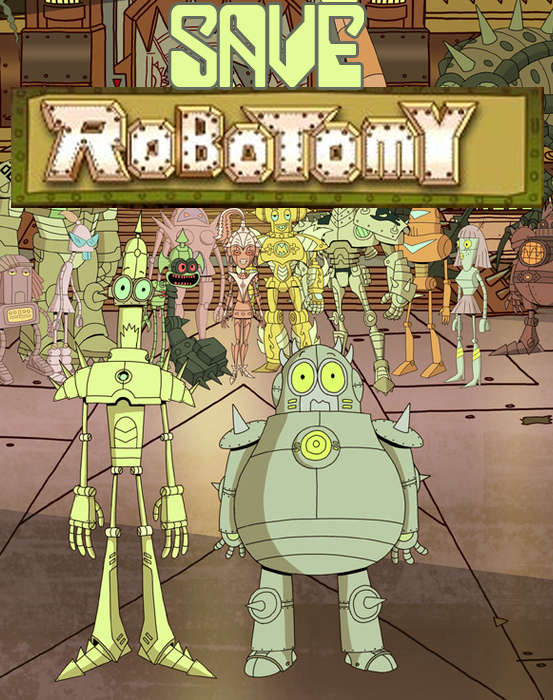 Robotomy Amaerican Animated Cartoon