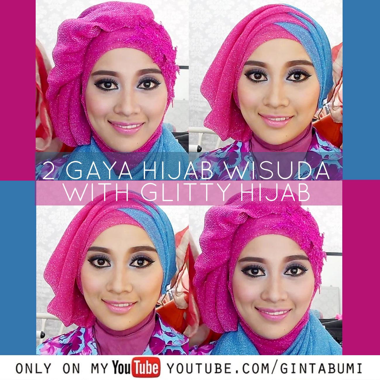 Hijab Beauty Tutorial Hijab Pesta Dan Wisuda Menggunakan Hijab
