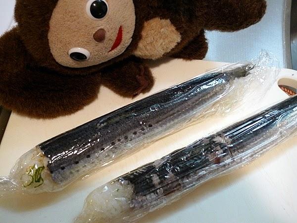 イワシ姿寿司の作り方(9)