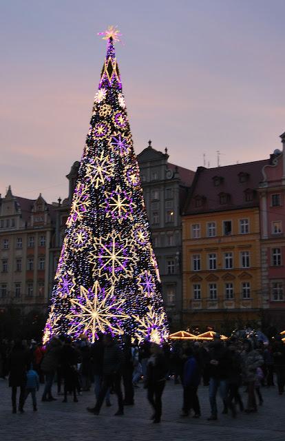 Wrocław choinka, choinka we Wrocławiu