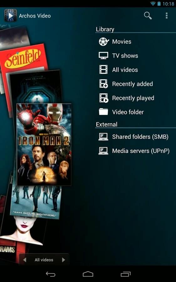 Archos Video Player v7.6.8 build 146