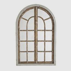 cheapskate arch window frame mirror - Window Frame Mirror