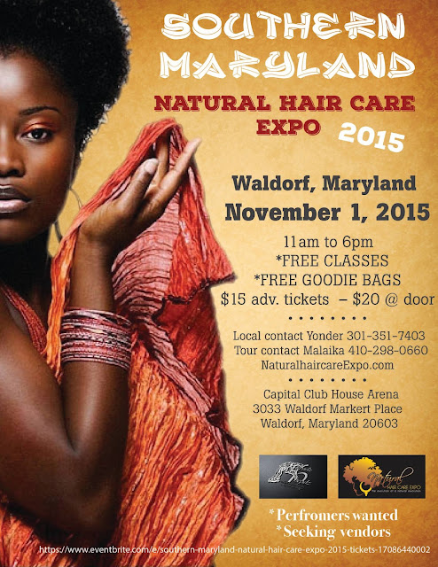 Natural Hair Care Expo Waldorf Md