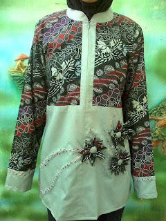 dress batik korsase bunga kain