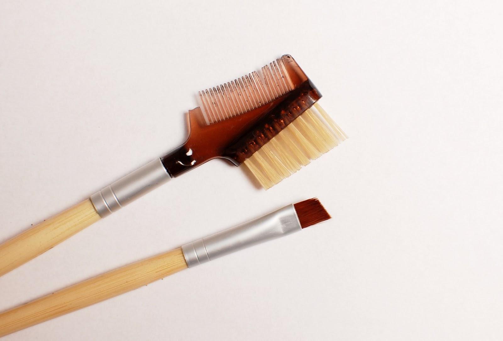 Ecottols Eyeliner Brush, Lash and Brown Groomer