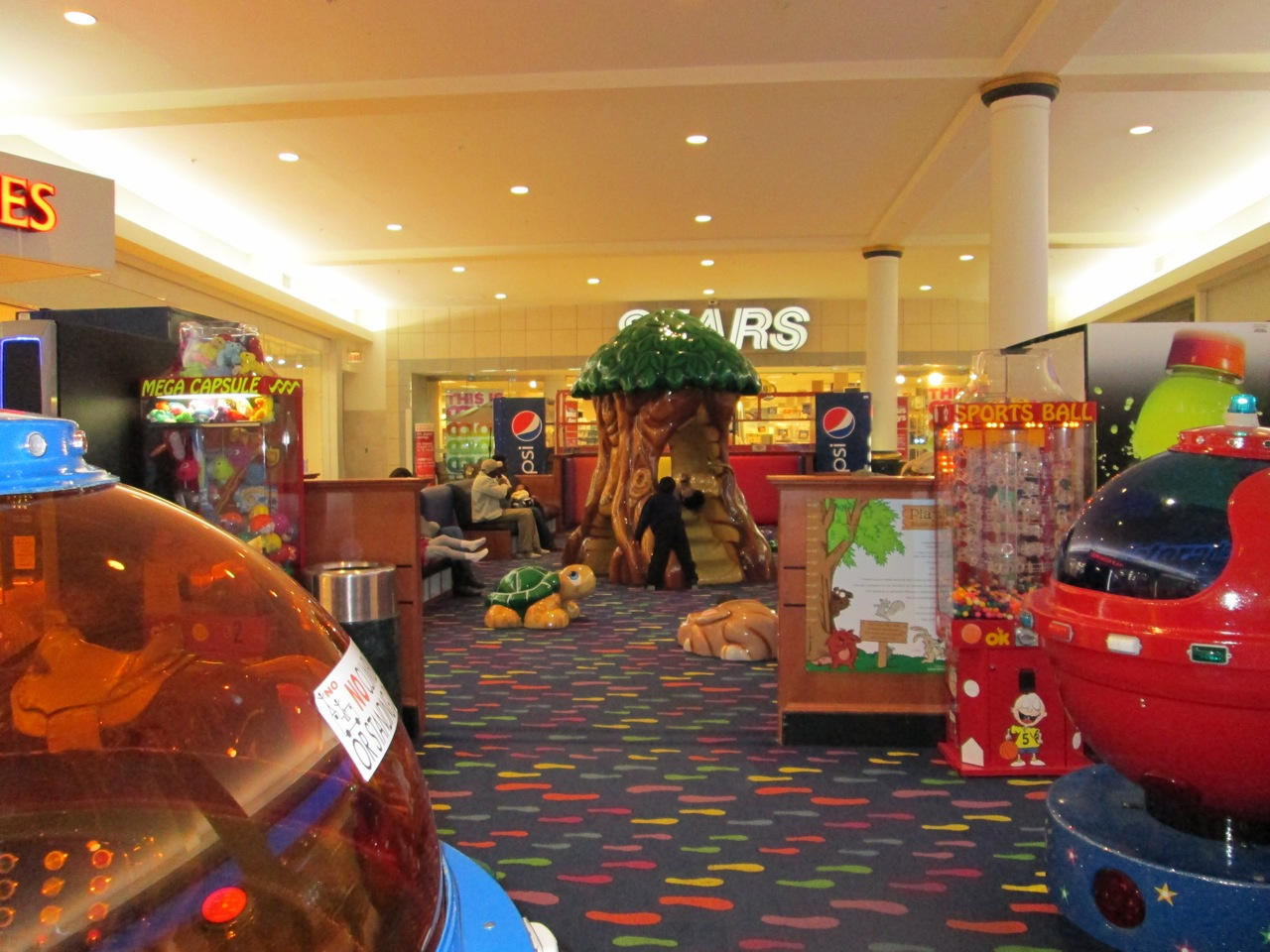 Ride On Toys For Older Kids >> The Stir Crazy Moms' Guide to Durham: Crabtree Valley Mall Play Area-Renovated
