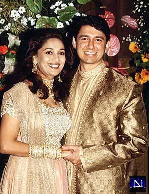Madhuri Dixit Wedding Photo Galleries