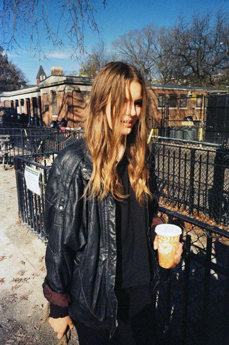 Tilda Lindstam street style, model off duty
