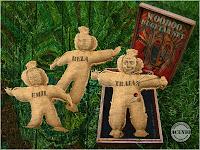 Funny photo Traian Basescu Woodoo dolls