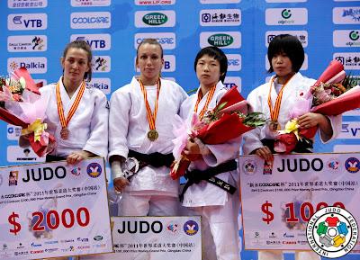 JUDO-Oiana Blanco es de plata en Qingdao