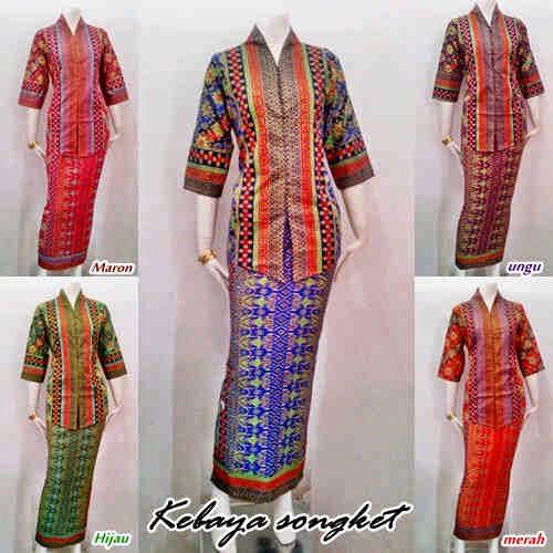Model Baju Batik Motif Songket Prodo Batik Bagoes Solo