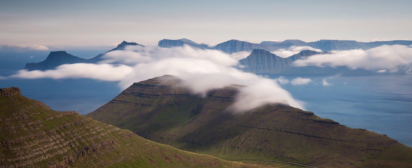 View from Slættaratindur - Faroe