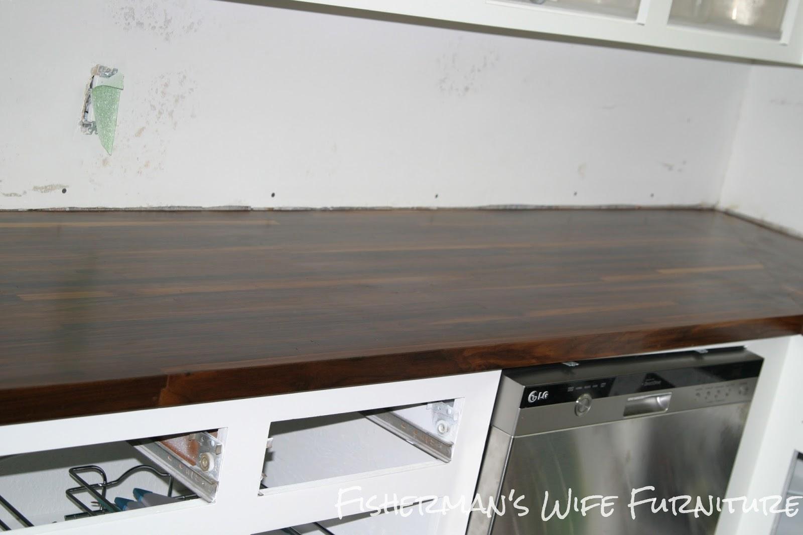 diy butcher block countertops