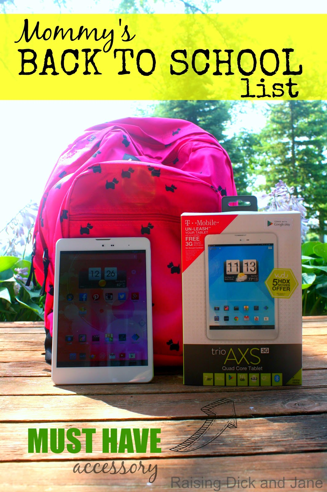 Mommy's back to school list #TabletTrio #CollectiveBias #shop