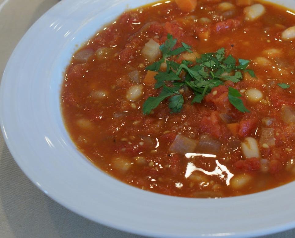 and tomatoes tomato and vegetable white bean bean soup ham white bean ...