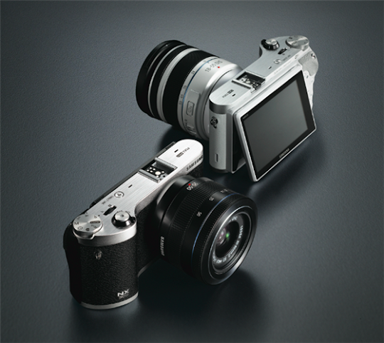 Samsung NX300: Mirrorless Camera