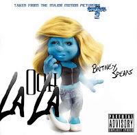 Ooh la la artwork the smurf 2
