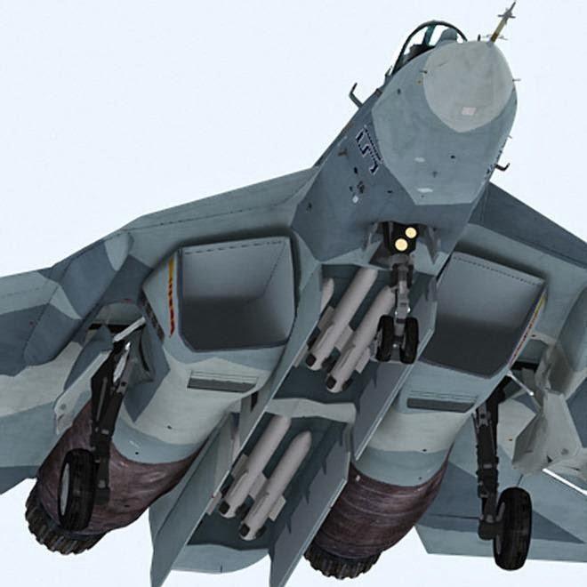 Sukhois T-50 Stealth Misseis
