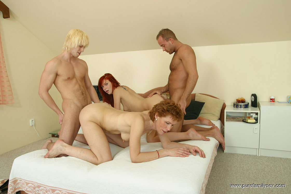 pics of family group sex