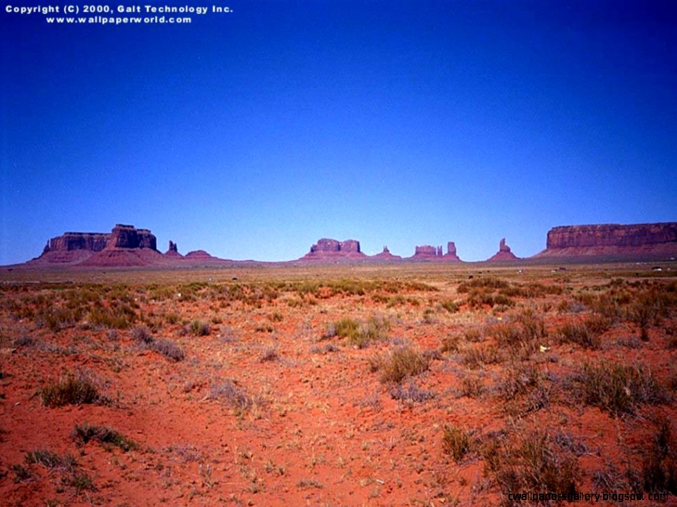 Visual Paradox   Free 3D Wallpaper Desert Valley 1024x768