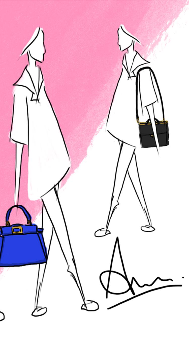 lovedandsign: free fashion illustration wallpaper