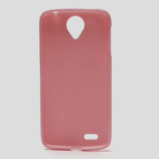 TPU Case with Matte Back Side for Lenovo S820 - Pink