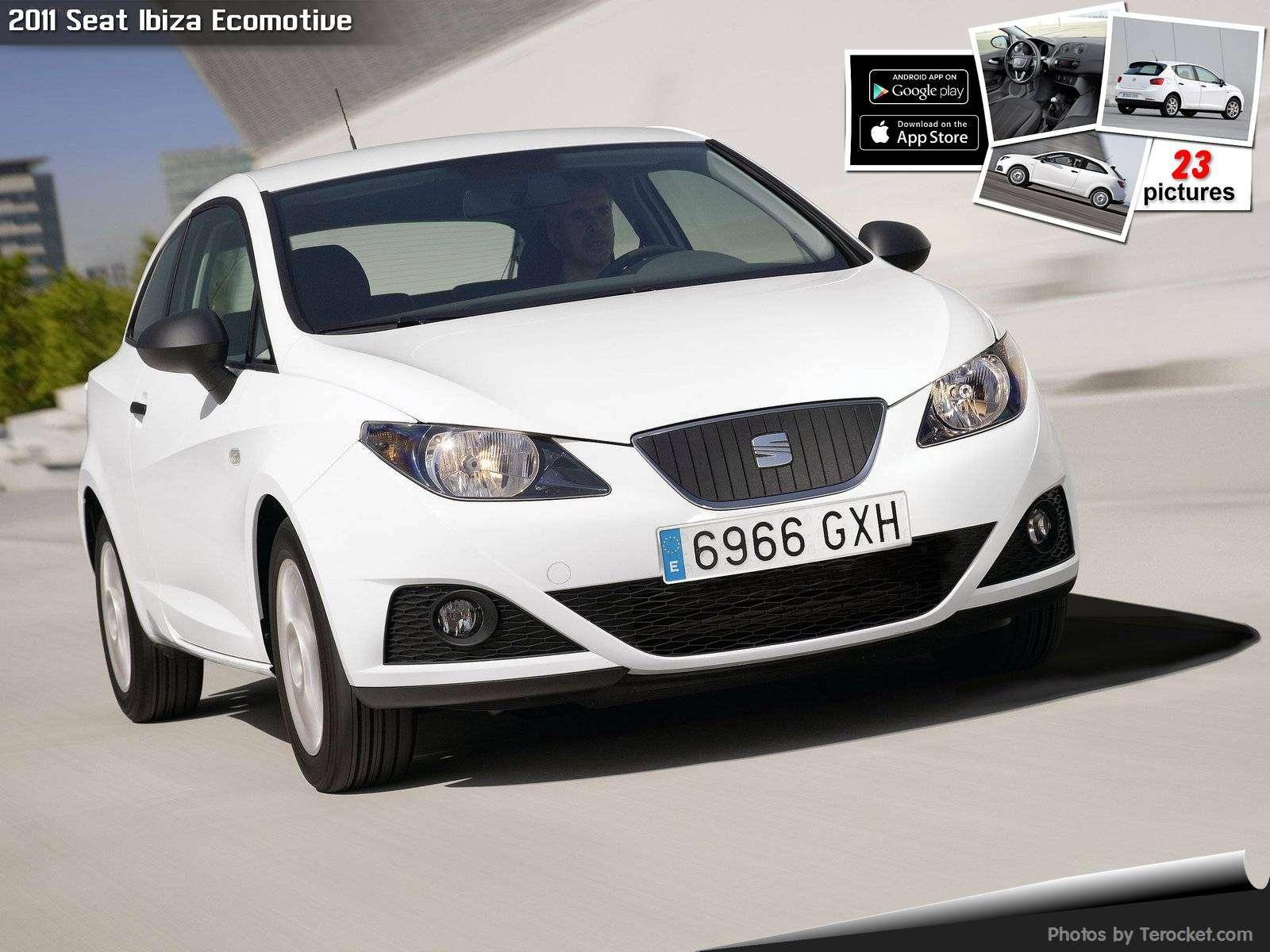 Hình ảnh xe ô tô Seat Ibiza Ecomotive 2011 & nội ngoại thất