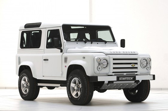 Land Rover Defender Yachting Edition by Startech 1