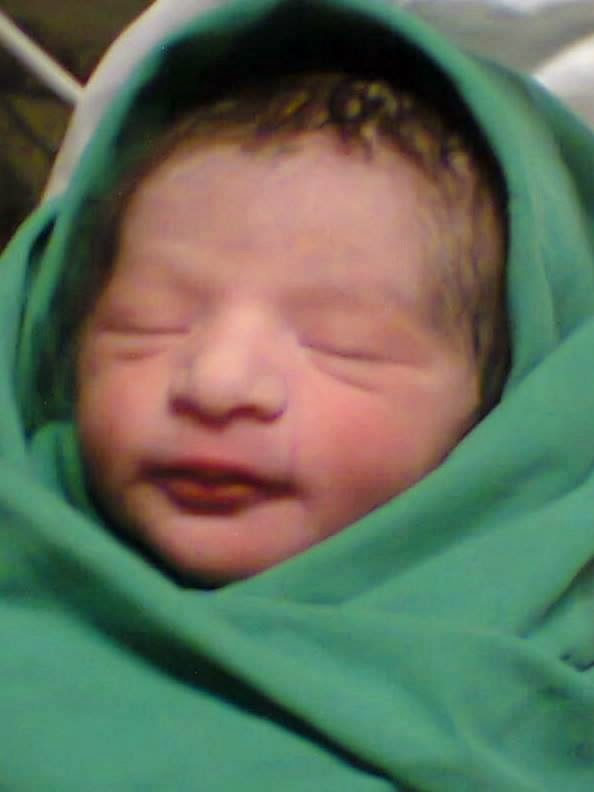 Nida Yasir New Born Son