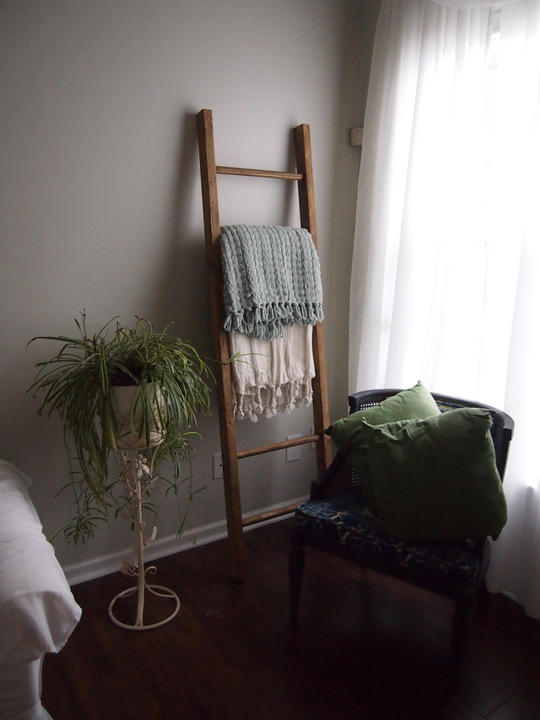 Pottery Barn Inspired | DIY Blanket Ladder $25 | Whispering Whims