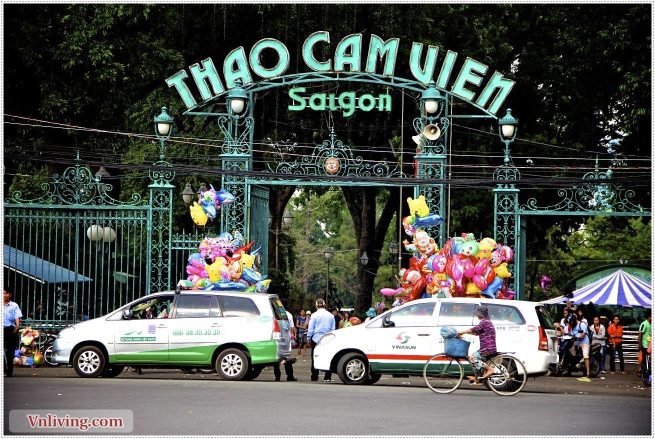 Botanical garden - Thảo cầm viên Sài Gòn