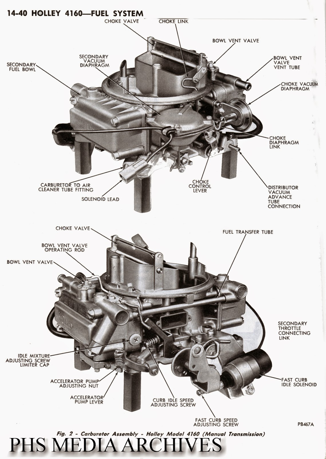 tech files series  identifying holley 4160 carbs for 1972