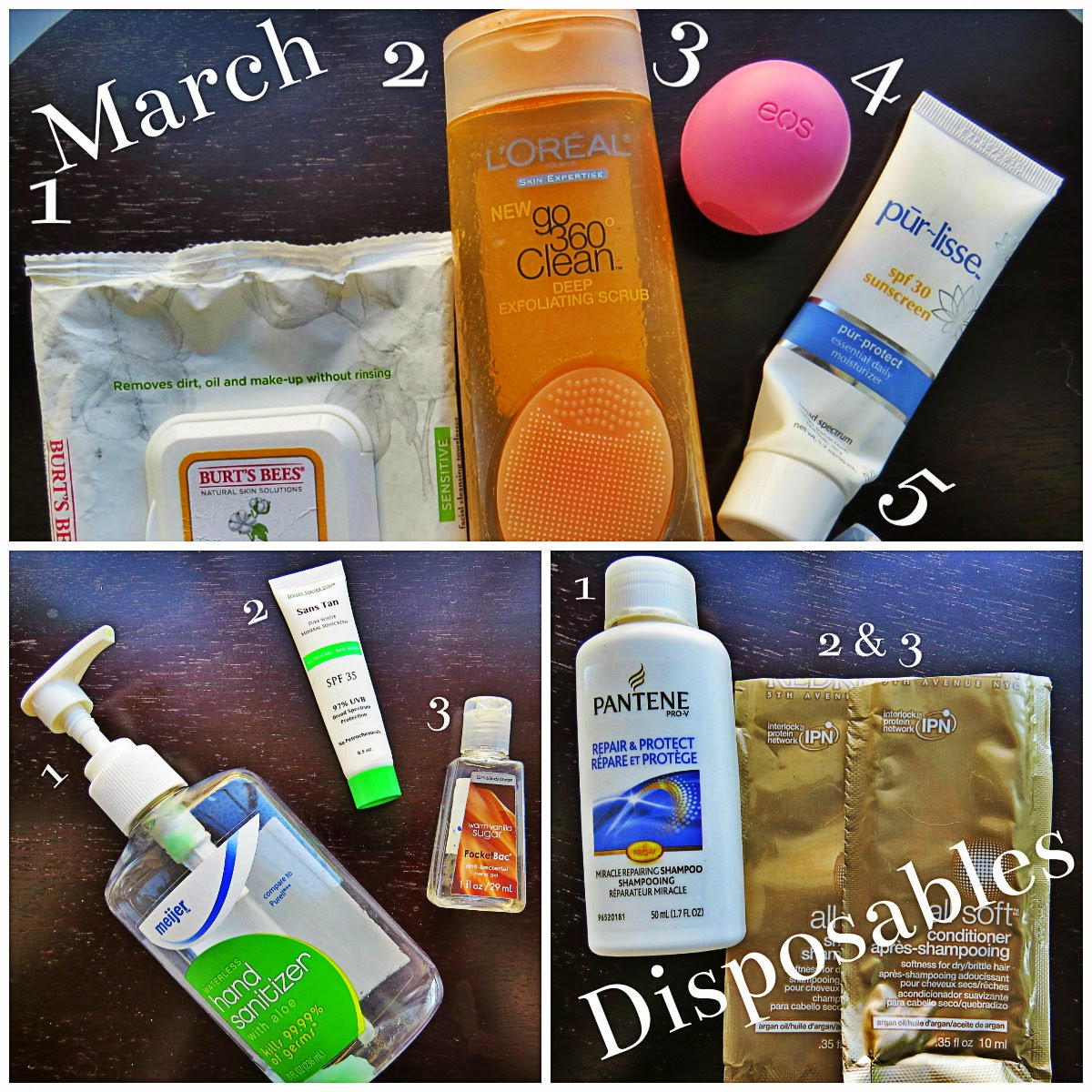 March Disposables